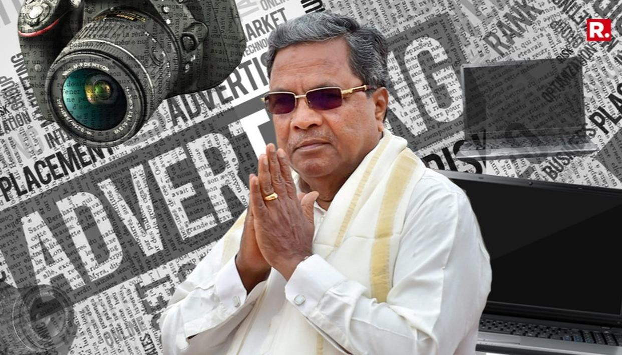SIDDARAMAIAH GOVT APPEASES: LAPTOPS, CAMS, ADS