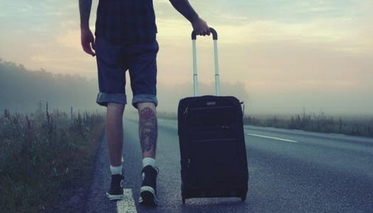 TRAVEL: DON'T DECIDE, JUST LET GO