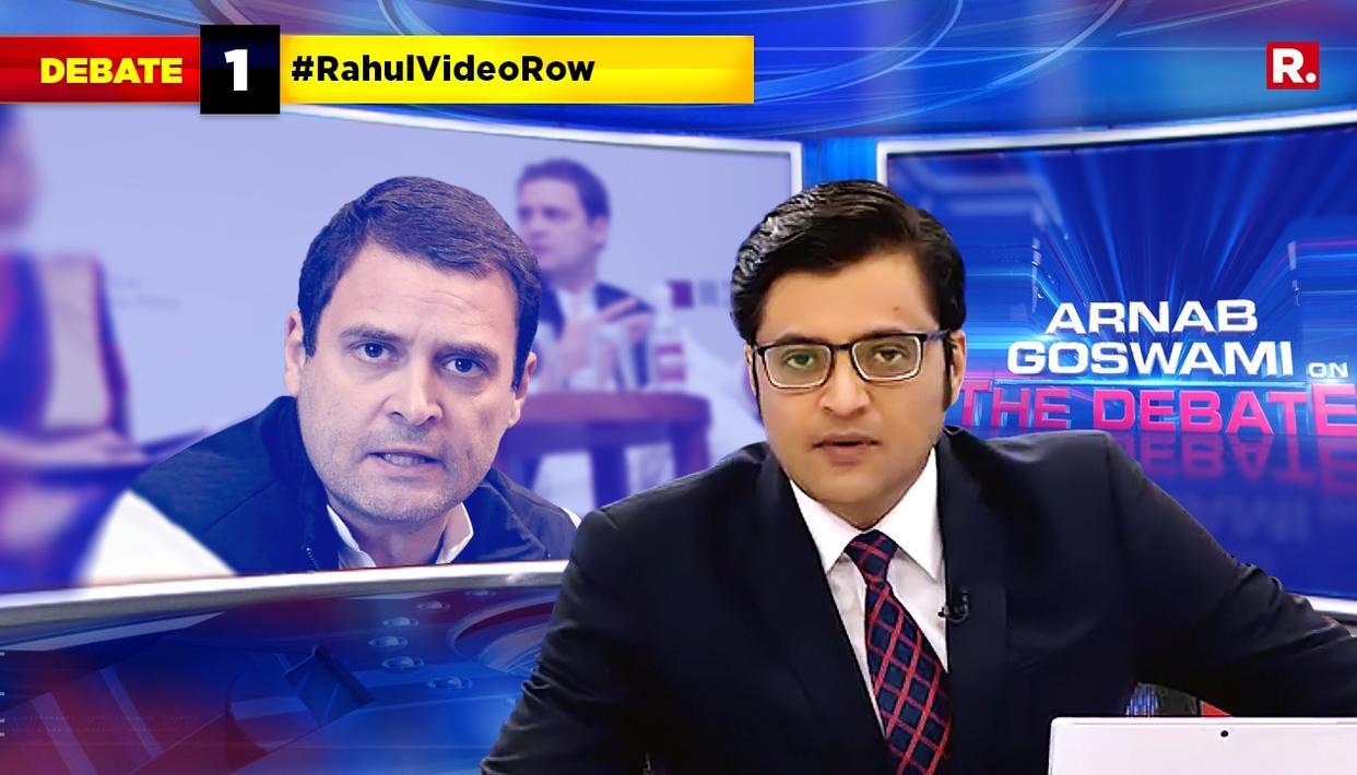 HIGHLIGHTS ON #RahulVideoRow