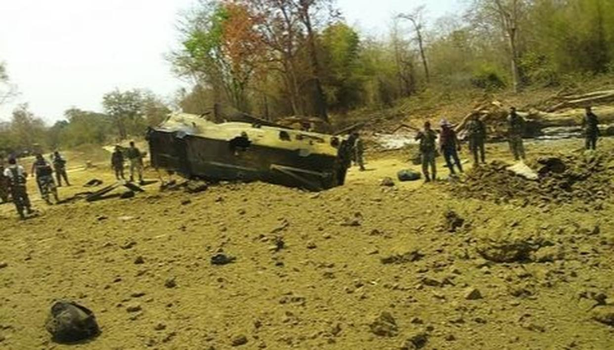 DEATH TOLL OF CRPF PERSONNEL REACHES 9