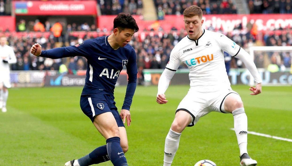 SPURS THROUGH TO FA CUP SEMIS