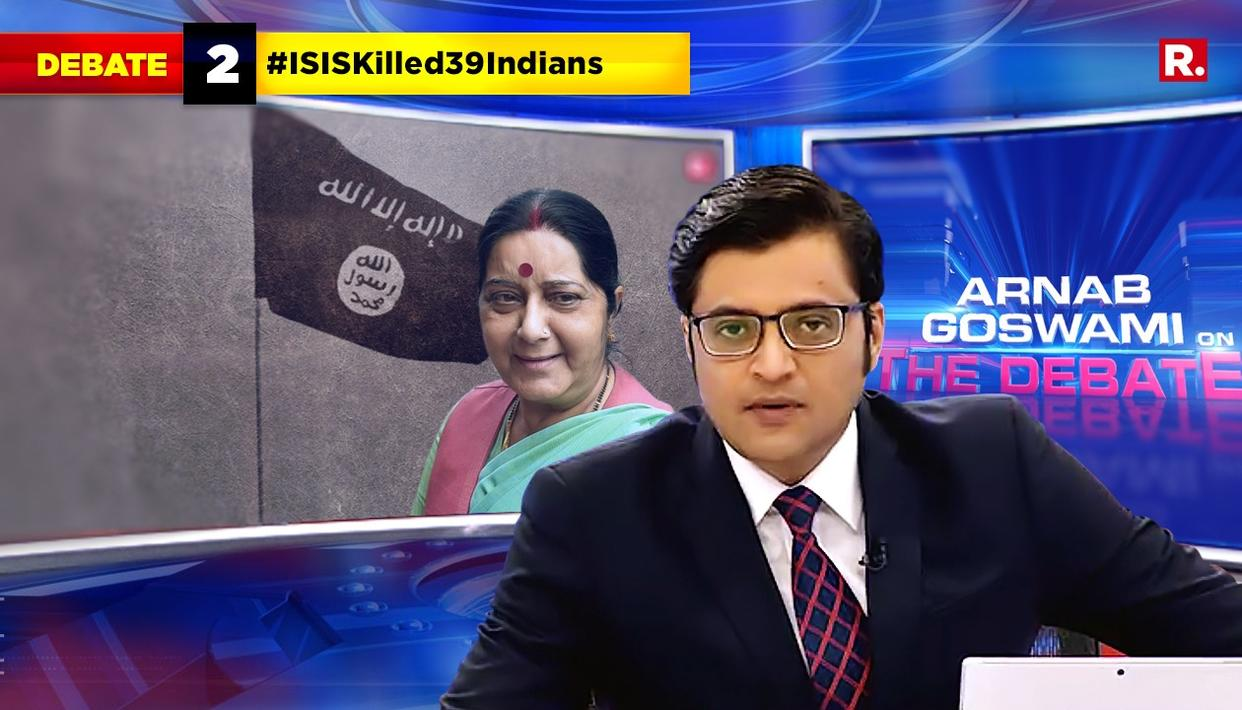 Highlights Of The Debate On #ISISKilled39Indians
