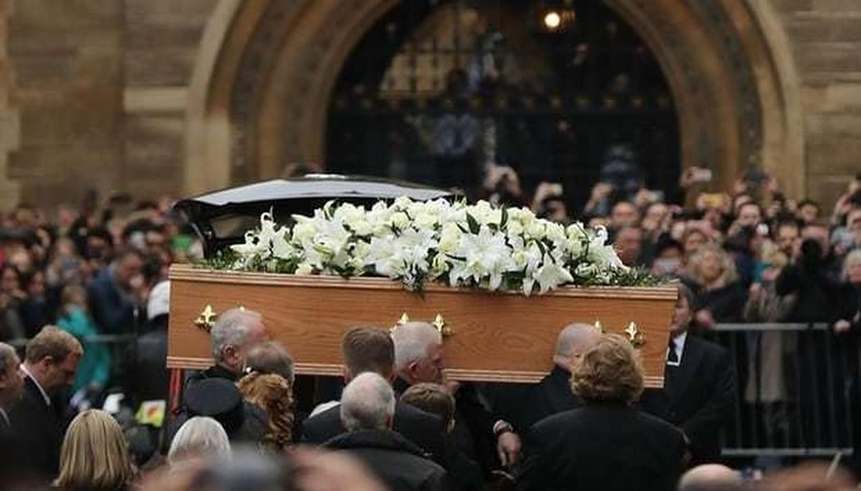 STEPHEN HAWKING'S FUNERAL TAKES PLACE