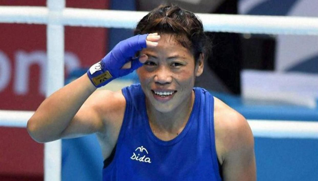 MARY KOM NEEDS ONE WIN TO CLINCH MEDAL IN CWG DEBUT