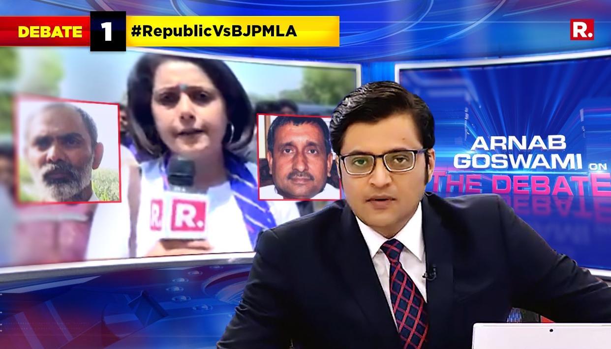 ARNAB SPEAKS #RepublicVsBJPMLA
