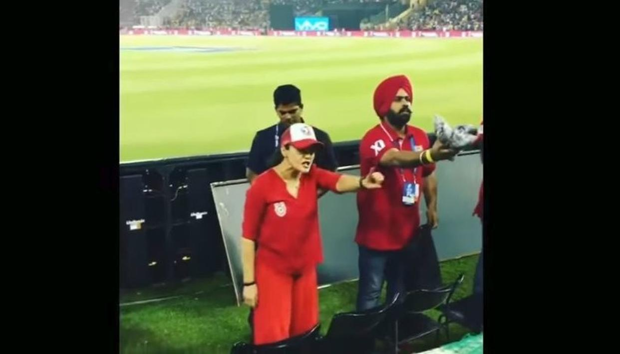 IPL 2018: PREITY ZINTA REVEALS THE TRUTH BEHIND HER VIRAL VIDEO