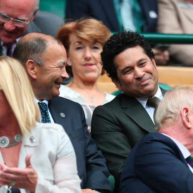 Celebrity spotting at the Wimbledon