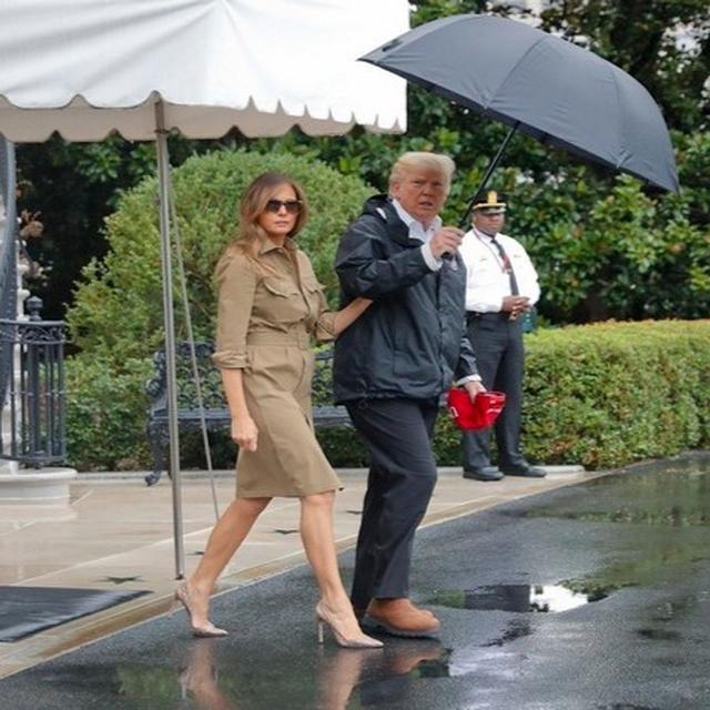 Melania Trump's High Heel Love