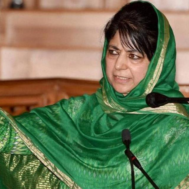 Mehbooba Mufti speaks on braid chopping incidents in the state