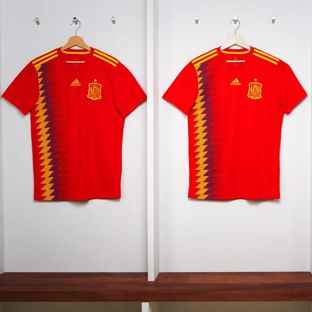 SPAIN'S JERSEY CONTROVERSY
