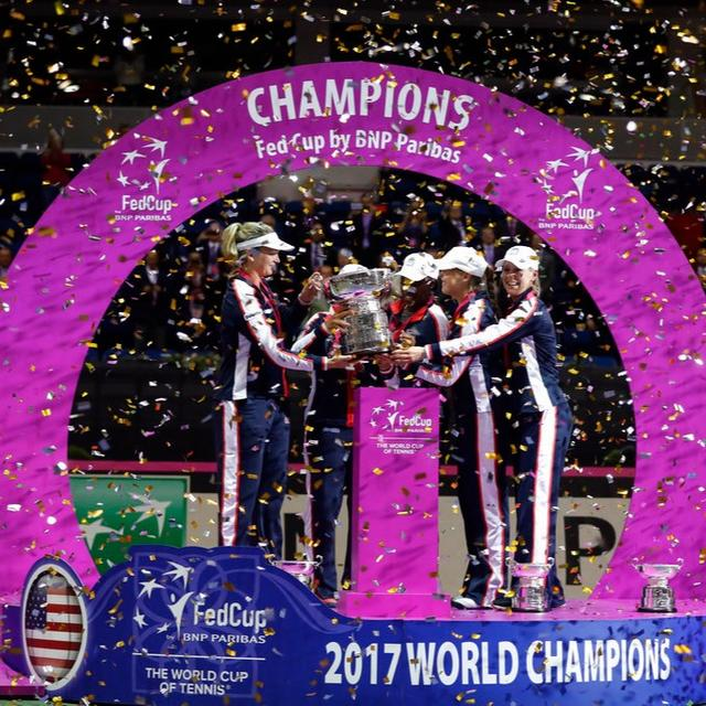 US WINS FED CUP