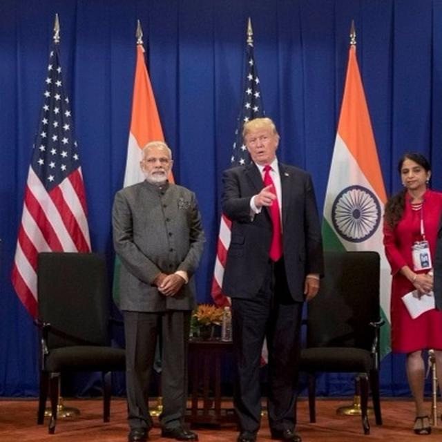 WATCH: WHAT MODI AND TRUMP HAD TO SAY