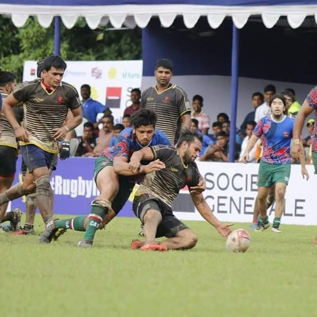 TEAM INDIA IN ASIA RUGBY CHAMPIONSHIP