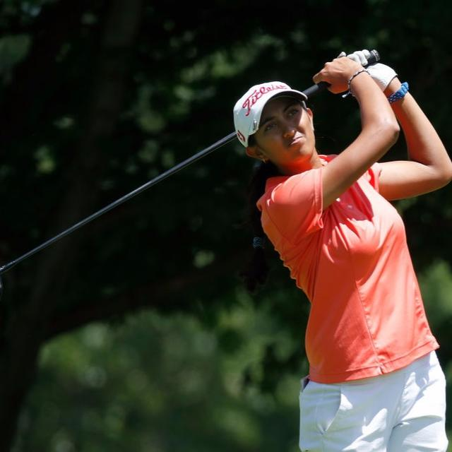 FIRST INDIAN TO QUALIFY FOR LPGA TOUR
