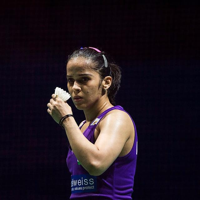 THUMPING WIN FOR SAINA
