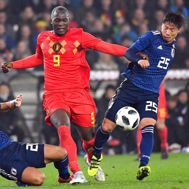 LUKAKU IN BELGIUM'S RESCUE