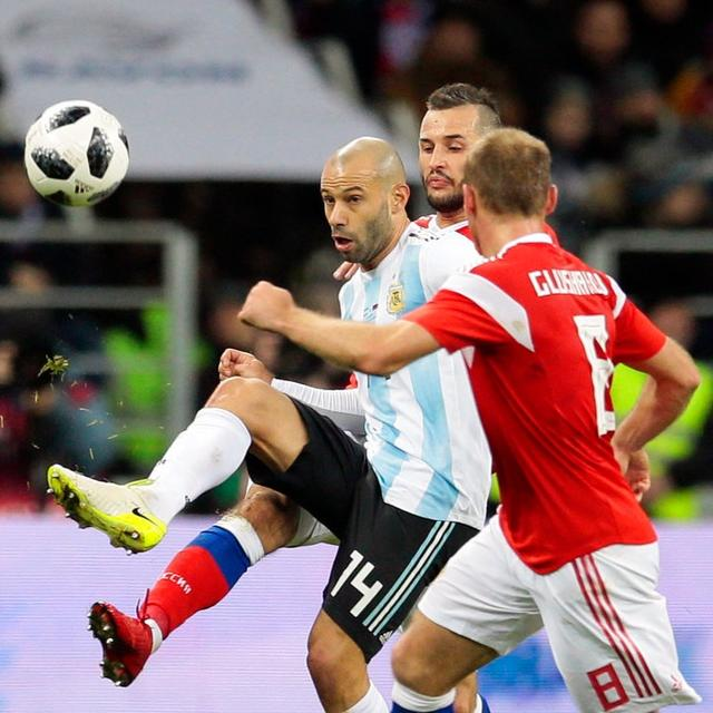 MASCHERANO OUT WITH INJURY