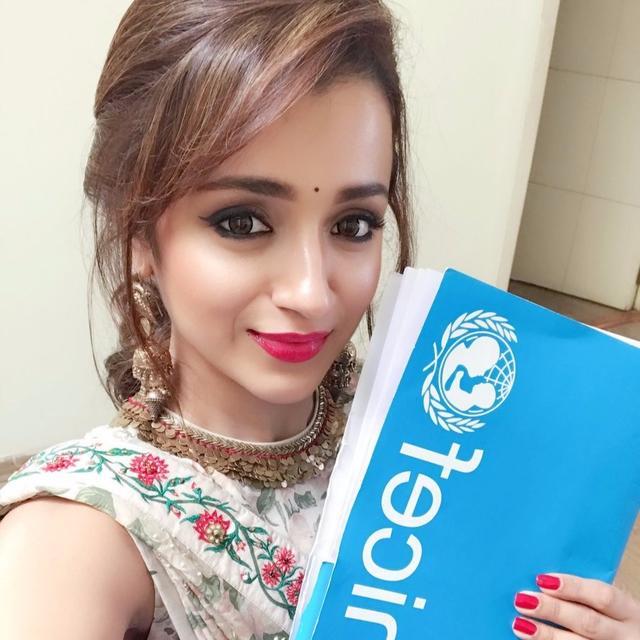 TRISHA IS A UNICEF ADVOCATE!