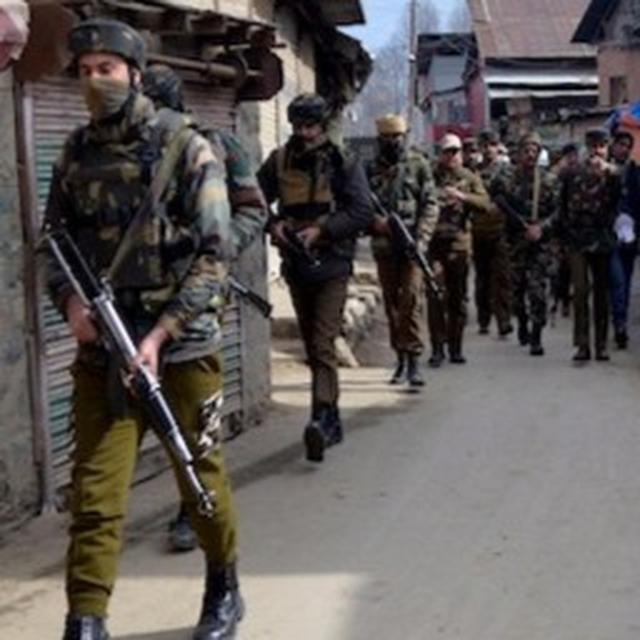 HANDWARA RAGES ON