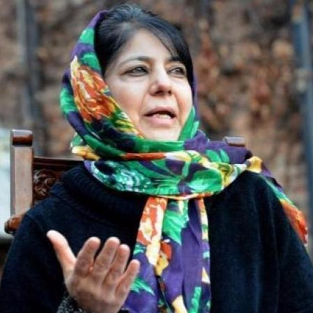 POSITIVE START BY INTERLOCUTOR: MEHBOOBA MUFTI
