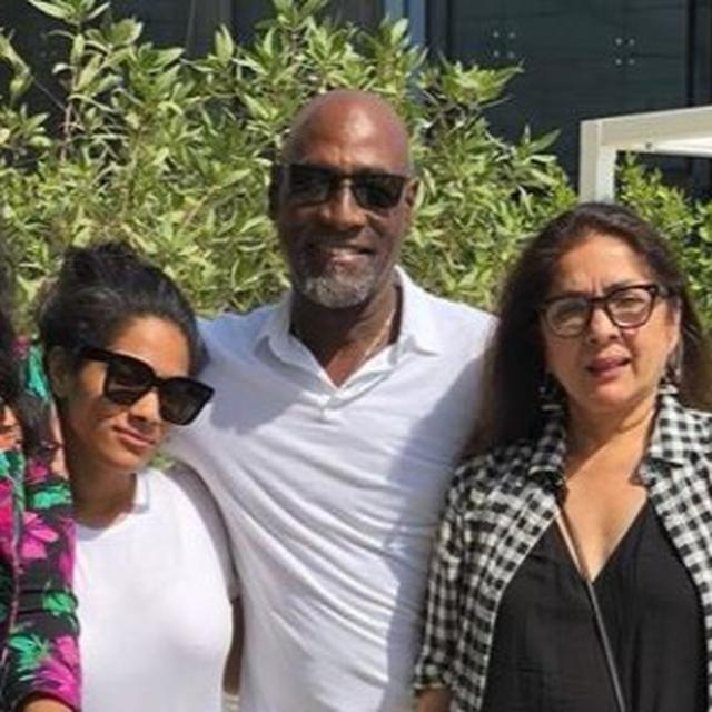 HOW NEENA GUPTA AND MASABA SURPRISED VIV RICHARDS ON HIS BIRTHDAY