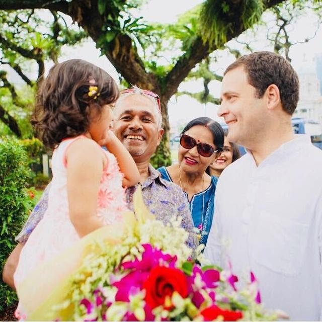 RAHUL GANDHI CELEBRATES WOMEN'S DAY