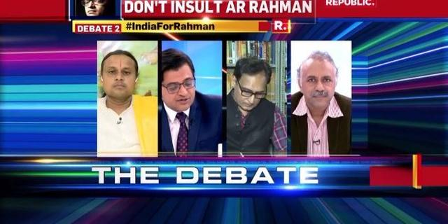 Is accusing Rahman of 'too much Tamil' exposing the language bias?