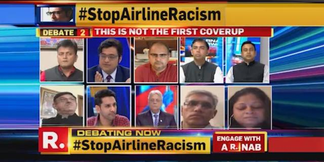 #StopAirlineRacism
