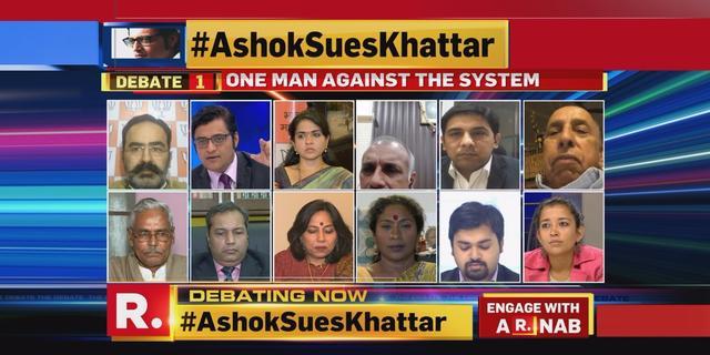 #AshokSuesKhattar