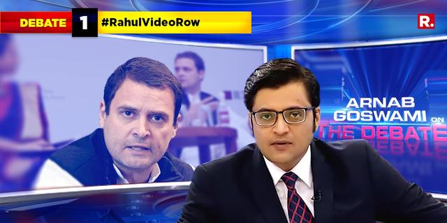 Did Congress edit the video to show Rahul Gandhi had an upper hand?