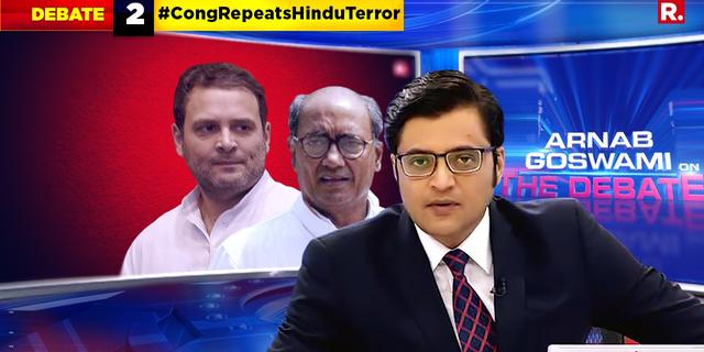 Has Congress insulted Hindu religion by linking it to terrorism?