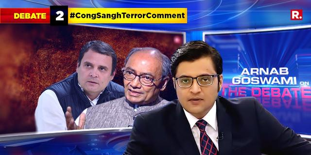 Will Rahul Gandhi explain in clear terms what his party means by 'Sanghi terror'?