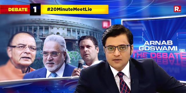 Rajya Sabha footage shows Jaitley in House till 11.33am. Is the 20-minute meeting lie busted?