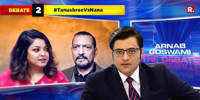 No response to specific questions: Is Nana Patekar on the backfoot now?