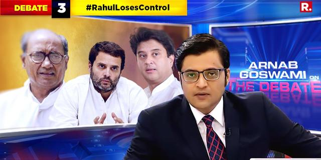 #RahulLosesControl, Sonia takes charge