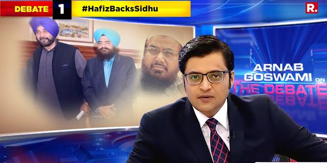 Sidhu caught posing with a terrorist