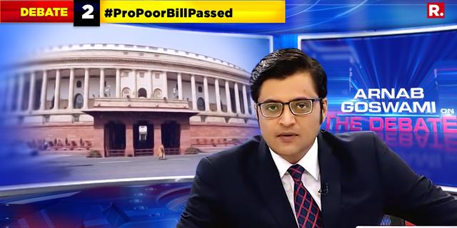 History made, #ProPoorBillPassed in the Parliament!