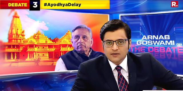 Aiyar's mandir line in question
