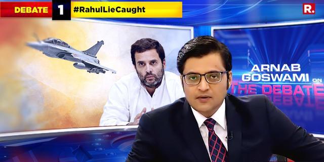 #RahulLieCaught