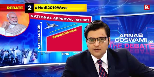 CVoter survey shows a surge in PM Modi's popularity. Is the Modi wave back in 2019?