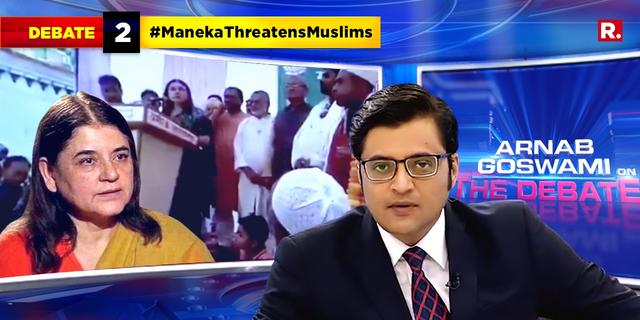 Is Maneka Gandhi threatening Muslims for votes?