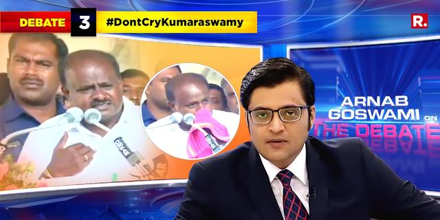 Karnataka CM Kumaraswamy breaks down again, complains about coalition compulsion and media
