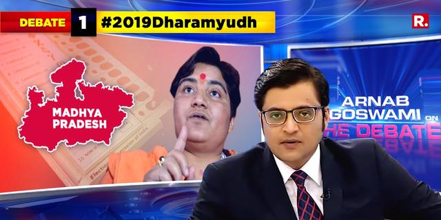 Sadhvi Pragya making polls about 'Hindutva'?