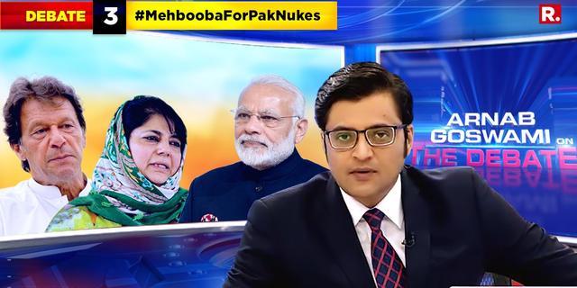 Is Mehbooba Mufti Pak's nuke expert?