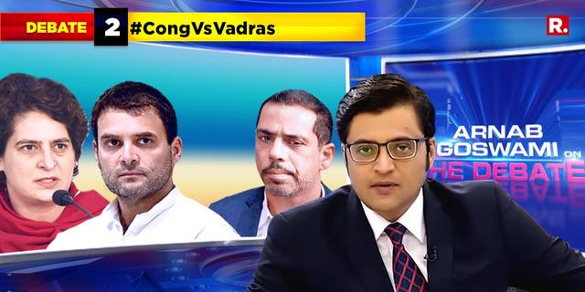 Congress now rejecting Vadras? Is Congress losing Delhi along with two states?