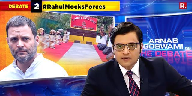 #RahulMocksForces on Yoga day