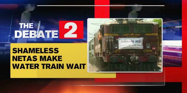 Netas Make Water Train Wait For 3 Hours