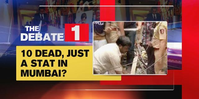 10 dead in Dongri building collapse, just a stat in Mumbai?