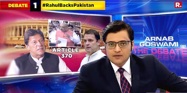#RahulBacksPakistan