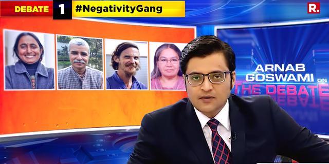 India unites against #NegativityGang